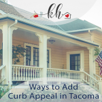 curb appeal in Tacoma, WA
