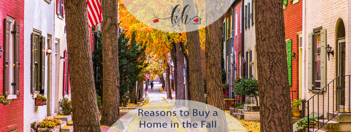 reasons to buy a home this fall