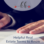 helpful real estate terms to know
