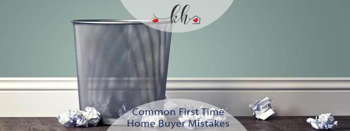 first time home buyer mistakes
