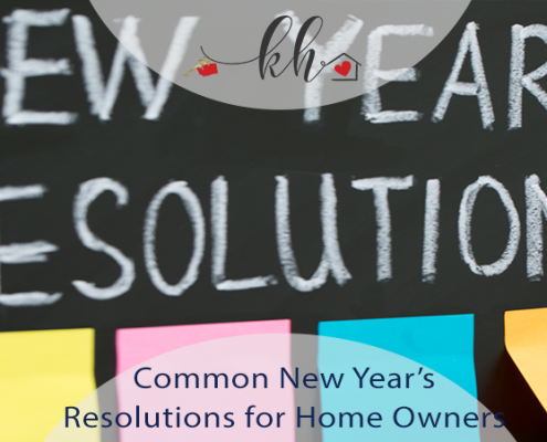 New Year's Resolutions for Home Owners