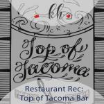 top of tacoma bar