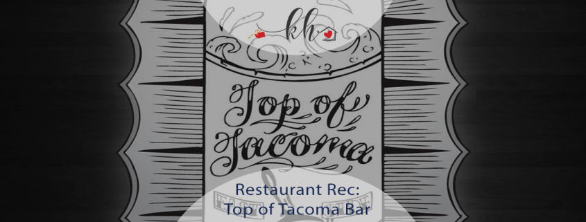 top of tacoma bar