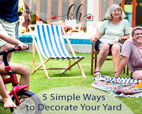 ways to decorate your PNW backyard